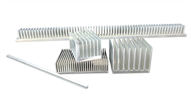 What Is Aluminum Used For >> Extruded Aluminum Heat Sinks - Cut to Length, Raw Bar, Custom - Aavid