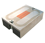 embedded heat pipe heat sink