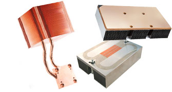 two phase cooling heat pipes vapor chamber