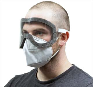 HexArmor®'s Fluid-Resistant Disposable Goggles developed to block liquid splash and dust from user's eyes