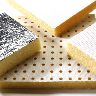 SOLIMIDE Foam insulation with integrated shielding layer designed and manufactured by Boyd Corporation