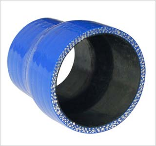 Blue Molded Reinforced Rubber Air Intake Hose