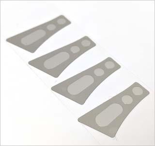 HDD 스탬핑 금속 팔 댐퍼와 로타리 변환 선택적으로 배치 섬 접착제