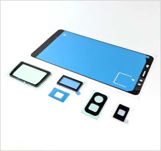 통합 입자 및 액체 인그레스 전자 디스플레이 스크린 모듈에 대한 보호
