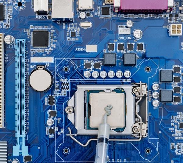 컴퓨터 마더보드 및 칩