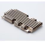 니켈 도금 알루미늄 지퍼 핀 방열판 구리 증기 챔버 베이스 스프레더 전체 증기 서라운드 장착 구멍 포함