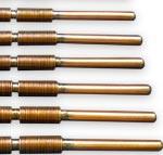 Flexible Heat Pipes mit Faltenbälge und flexiblen Dochten
