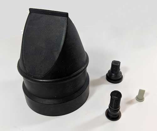 Molded Rubber Check Valves and Filters