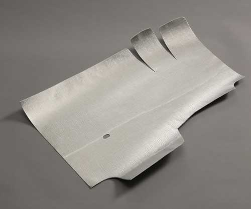 Converted Fiber-glass Reinforced Aluminum Foil Heat Shield