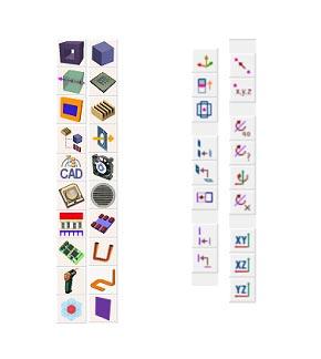 Componente Aavid SmartCFD e barra degli strumenti geometrica