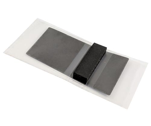 Heat Spreading Graphite Pad with adhesive and foam cushion
