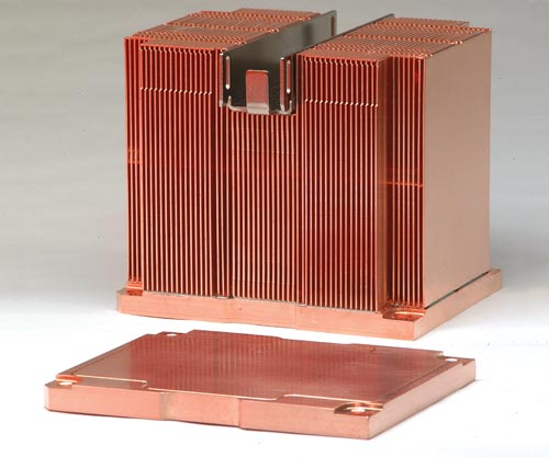 2U Heat Spreading Vapor Chamber Base Heat Sink Assembly for Server Application