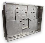 CNC Machined Aluminum for lightweight, rugged, thermal performance